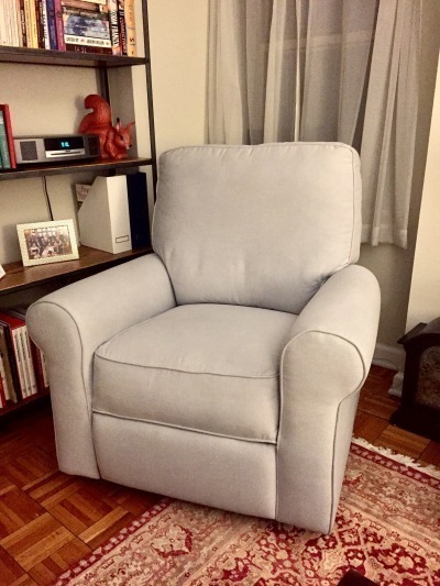Gently Used Pottery Barn Swivel Rocker Furniture Available