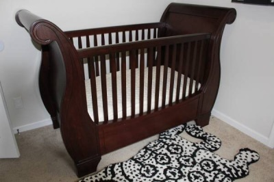 Gently Used Pottery Barn Larkin 4 In 1 Convertible Cribs